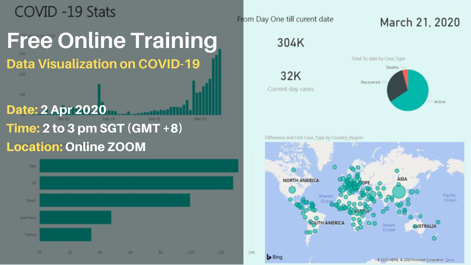 Online Training on Data Visualization