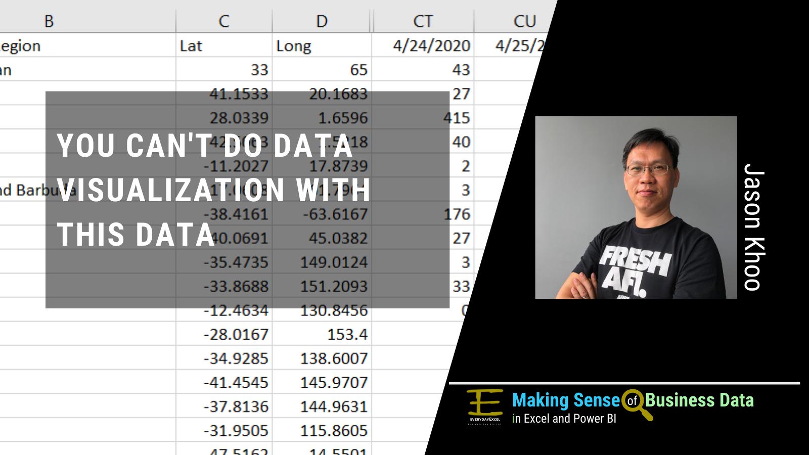 Pivot Table Friendly data