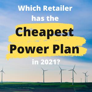 cheapest power plan